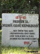 Tablica z 1916 r.