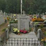 Szadek, kwatera powstańców 1863 na cmentarzu parafialnym