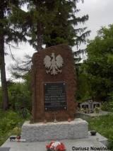 Pomnik na cmentarzu w Nowej Słupi.