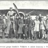 Polscy lotnicy w Pau.