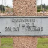 Rambervillers. Grób żołnierza 1 p. strz. polskich.