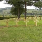 Senones. Groby 7 żołnierzy polskich.