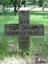 Grób legionisty Jana Dragana
