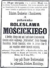 płk Bolesław Mościcki
