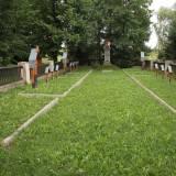 Warzyce. Cmentarz wojenny nr 21.