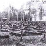 Białystok. Niemiecki cmentarz wojenny.