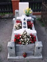 Grób żołnierza zmarłego w czasie I wś.