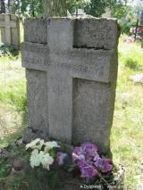 Mogiła Aleksandra Pietrukowicza poległego w 1919 r.