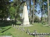 Kwatera wojenna na cmentarzu katolickim w Lidzie.