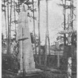 Pomnik żołnierzy 6 pp legionów w Lidzie.