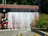 Słonim. Fragment pomnika