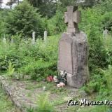 Mogiła żołnierzy POW w Sopoćkiniach.