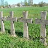 Łużki. Groby żołnierzy 155 pp.
