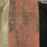 Mogiła sierż. Rudolfa Adamusa.