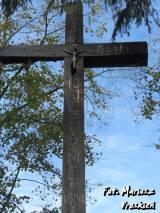 Krzyż na mogile żołnierzy WP.