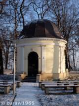 Oświęcim-Dwory. Kaplica Hallerów.