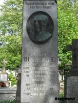 Pomnik na grobie Higina Olszewskiego.