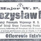 Nekrolog mjr Mieczysława Nowickiego