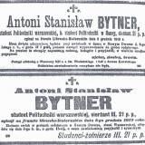 Nekrolog sierż. Antoniego S. Bytnera.