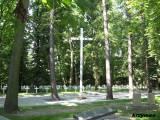 Cmentarz garnizonowy.