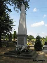 Pomnik w Płocku-Trzepowie.