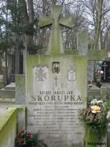 Grób księdza Ignacego Skorupki.