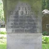 Grób ppor. Ignacego Okołówa.