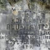 Grób kaprala Blumtrytta z 7 p.uł.