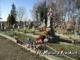 Kwatera wojenna na cmentarzu w Klimówce.