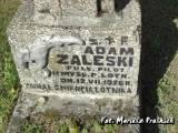 Płk pil. Adam Zaleski był zastępcą dowódcy 11 pułku myśliwskiego....