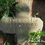 Wołkowysk. Krzyż z grobu strzelca konnego.