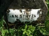Ś. + P. JAN STRYŻKO / POSTER. P.P. / UR. ... / ZM. ... 1925 R. / CZEŚĆ JEGO...