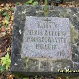 Landwarów. Upamiętnienie ofiar Katynia.