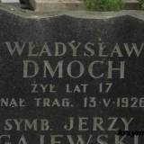 Warszawa. Mogiła cywilnej ofiary walk majowych.