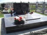 Żydomla. Mogiła pomordowanych osadników z Budowli.