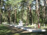 Grupa. Kwatera żołnierzy WP z 1939 roku.