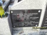 Zambrów. Tablica ku czci jeńców włoskich.