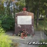 Mogiła 154 żołnierzy Armii Czerwonej.