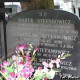 Myszyniec. Grób rodziny Stefanowiczów.